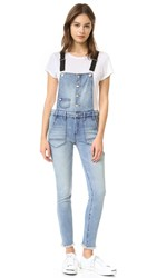 Blank Button Up Overalls Skinny Dipper