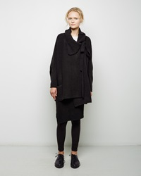 Forme D'expression Cashmere Blend Cardigan Black