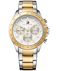 Tommy Hilfiger Men's Sophisticated Sport Two Tone Stainless Steel Bracelet Watch 44Mm 1791226