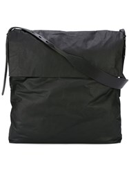 Rick Owens Oversized Shoulde Bag Black