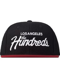 The Hundreds Black Team Snapback