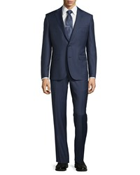 Neiman Marcus Modern Fit Two Piece Suit Navy