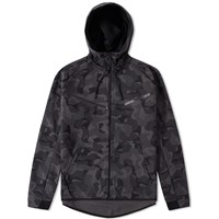 Nike Tech Fleece Camo Windrunner Grey