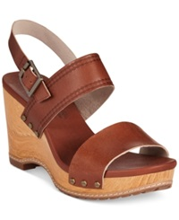 Timberland Women's Earthkeepers Tilden Platform Wedge Sandals Women's Shoes