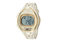 Timex Ironman Sleek 50 Hollywood Full Size Resin Strap Watch White Gold Tone Watches