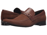 Massimo Matteo Perf Mocc With Leather Bit Malbec Men's Slip On Dress Shoes Purple