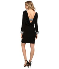 Rsvp Mina Short Dress Black Women's Dress