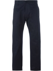 E. Tautz Chino Trousers Blue