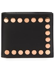 Givenchy Studded Billfold Wallet Black