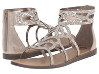 Yellow Box Begonia Taupe Women's Dress Sandals