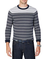 Nautica Long Sleeve Knit Sweater Blue