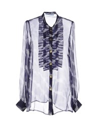 Blumarine Shirts Kaftans Women Dark Blue