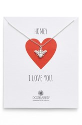 Women's Dogeared 'Honey Bee' Pendant Necklace Nordstrom Exclusive