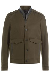 The Kooples Wool Jacket Brown