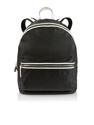 Elizabeth And James Cynnie Contrast Edge Backpack Black Black