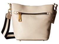 Marc Jacobs Gotham Bucket Pebble Handbags Beige