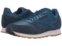Reebok Classic Leather Spp Noble Blue Collegiate Navy White Gum Men's Shoes