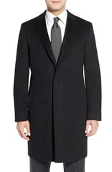 Men's Big And Tall Cardinal Of Canada Cashmere Overcoat Black