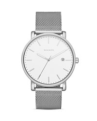 Skagen Hagen Mesh Bracelet Watch 40Mm White