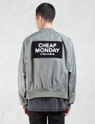 Cheap Monday Rank Patch Bomber Jacket