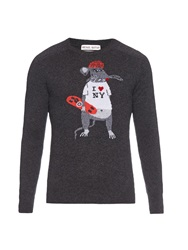 Michael Bastian I Love New York Cashmere Sweater