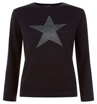 Hobbs Astrology Sweater Purple