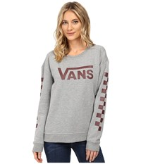 Vans Big Fun Crew Grey Heather Women's Fleece Gray