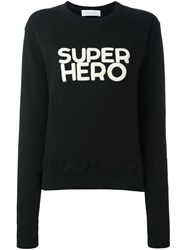 Iro 'Super Hero' Sweatshirt Black