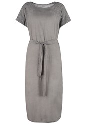 Object Objivy Summer Dress Frost Gray Anthracite
