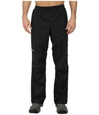 Jack Wolfskin Cloudburst Pants Black Men's Casual Pants