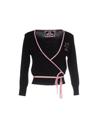 Hello Kitty Knitwear Wrap Cardigans Women Black