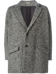 Arts And Science Tweed Coat Black