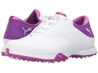 Puma Blaze White Orchid Bloom Purple Cactus Flower Women's Golf Shoes