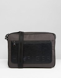 Tommy Hilfiger Logo Messenger Bag Black