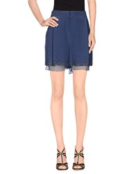 Max And Co. Skirts Mini Skirts Women Slate Blue