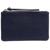 John Lewis Harriet Leather Coin Purse Navy