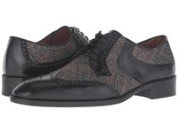 Etro Cocooning Oxford Black Men's Lace Up Casual Shoes