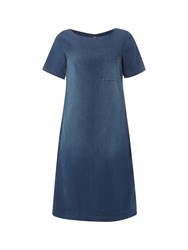 White Stuff Indigo Summer Dress Denim