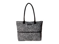 Vera Bradley Lighten Up Expandable Travel Tote Camo Cat Tote Handbags Black
