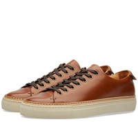 Buttero Tanino Low Leather Welt Sneaker Brown