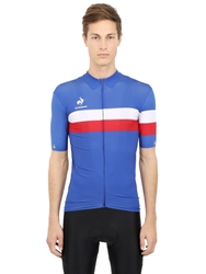 Le Coq Sportif Cycling Performance Tour De France Polo Blue