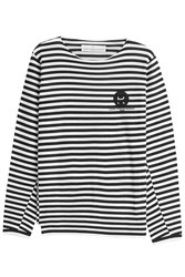 Golden Goose Merino Wool Striped Pullover Stripes