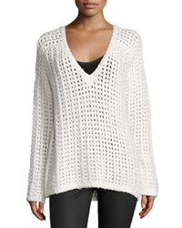 Line Jameson Slouchy Sweater Bright White