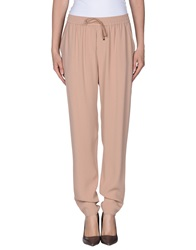 Vanessa Bruno Casual Pants Skin Color