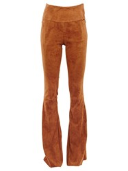 Drome Flared Trousers Brown