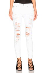 R 13 R13 Relaxed Skinny In White