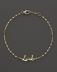 Lana Jewelry Luck Bracelet Yellow Gold