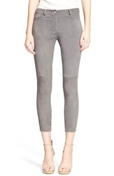 Women's Michael Kors Stretch Suede Skinny Ankle Pants