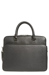 Salvatore Ferragamo Men's 'Revival' Calfskin Leather Briefcase