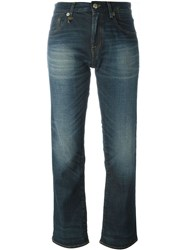 R 13 R13 Flared Jeans Blue
